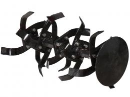 Почвенные фрезы Asilak с дополнительными секциями для 6-гранного вала 32 мм