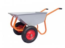 Тачка строительно-садовая ТССР-2П с пневматическими колесами