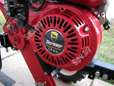 Бензиновый двигатель мощностью 7,5 л.с.