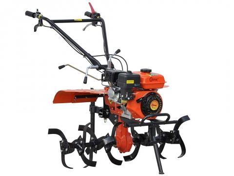 Мотокультиватор Skiper SK-850S с пониженной передачей, почвенными фрезами