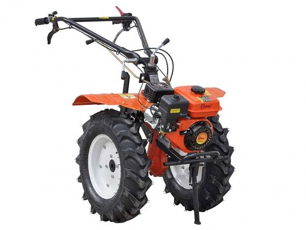 Мотокультиватор Skiper SK-850S с пониженной передачей, почвенными фрезами, колесами 6,00-12