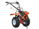 Мотокультиватор Skiper SK-850 с колесами 19x7-8, плугом, окучником, картофелевыкапывателем